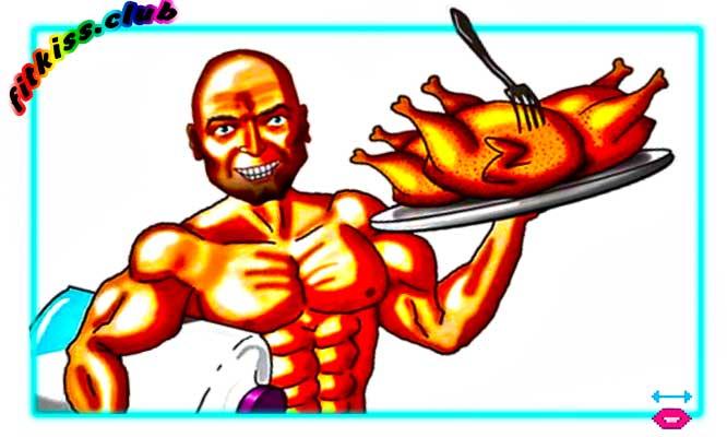 поедание белка для роста мышц