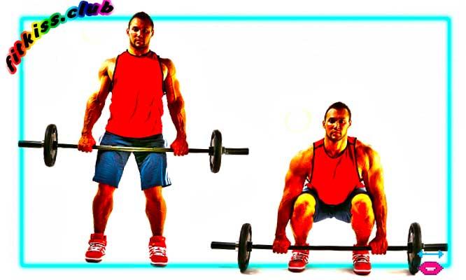 базовое упражнение румынская становая тяга