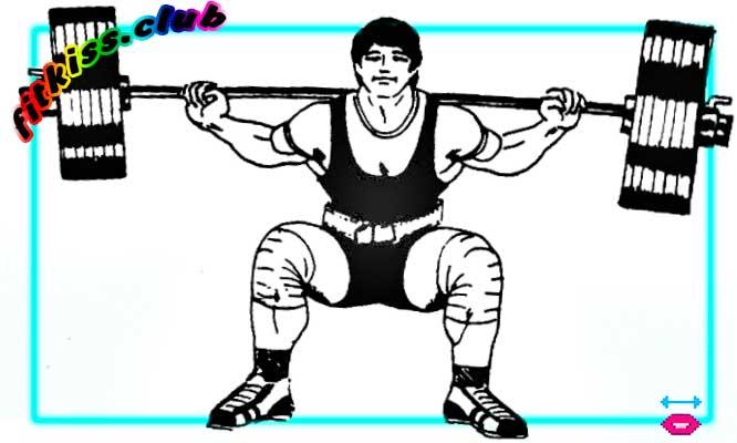 базовое упражнение приседание