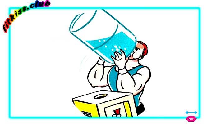 отказ от воды ошибка бодибилдеров